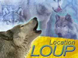 louer spectacle loup